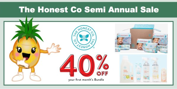 The Honest Co Semi Annual Sale