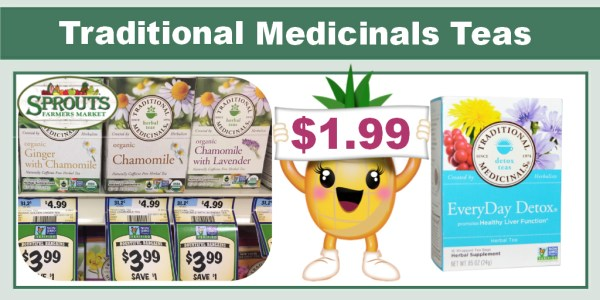 Traditional Medicinals Herbal Teas Coupon Deal