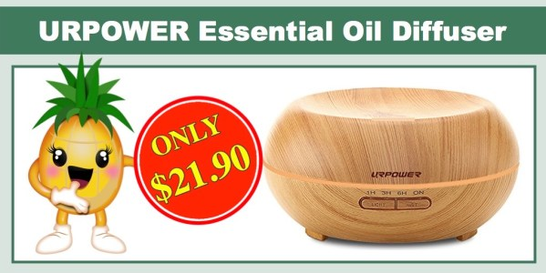 URPOWER Essential Oil Diffuser & Humidifier
