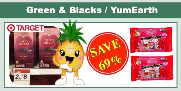 Green & Blacks Chocolate and YumEarth Organic Candy