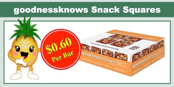 goodnessknow snack squares