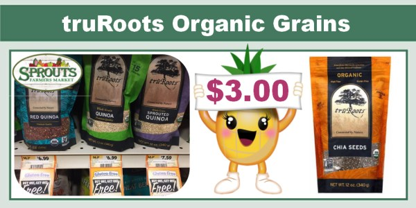 truRoots Organic Quinoa or Chia Seeds Coupon Deal