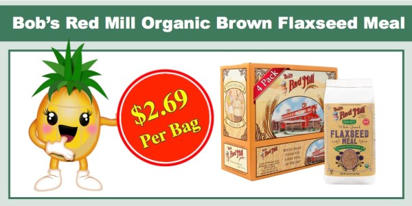 Bob's Red Mill Organic Brown Flaxseed Meal