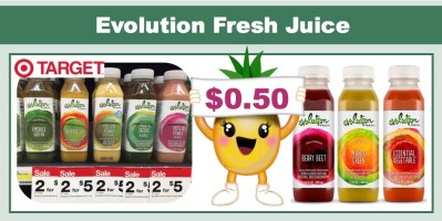 Evolution Fresh Juice Coupon Deal