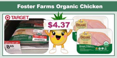 Foster Farms Organic Chicken Coupon Deal