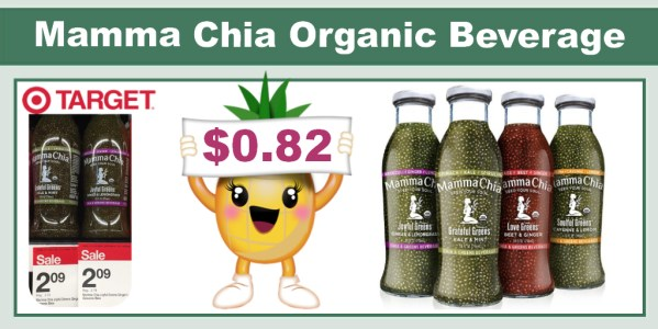 Mamma Chia Organic Beverage Coupon Deal
