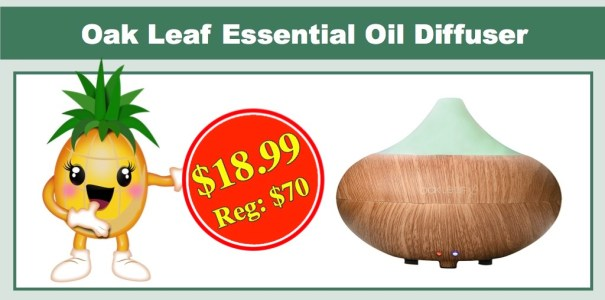 Oakleaf Essential Oil Diffuser