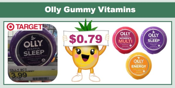 Olly Gummy Vitamins Coupon Deal