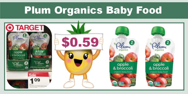 Plum Organics Baby Food Pouches Coupon Deal