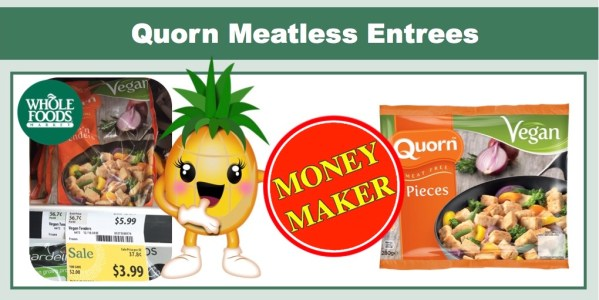 Quorn Meatless Entrees Coupon Deal