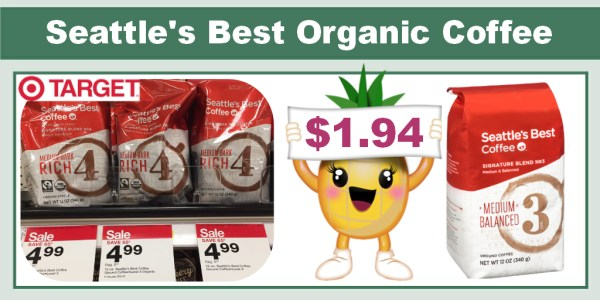 Seattle's Best Organic Coffee Coupon Deal
