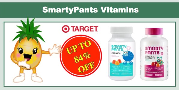 SmartyPants Multivitamins Coupon Deal