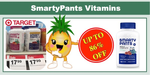 SmartyPants Men's Complete MultiVitamins