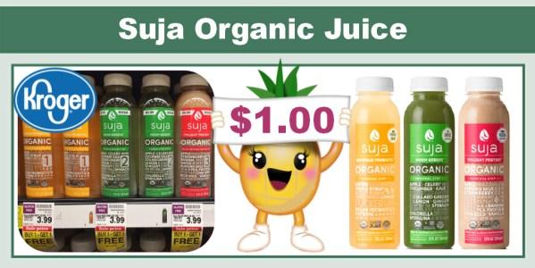 Suja Organic Juice BOGO Sale