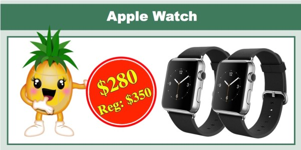 Apple Watch (38MM) Stainless Steel Case