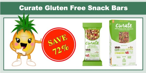 Curate Gluten Free Snack Bars