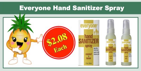 Everyone Hand Sanitizer Spray