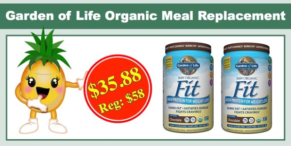 Garden of Life Organic Meal Replacement