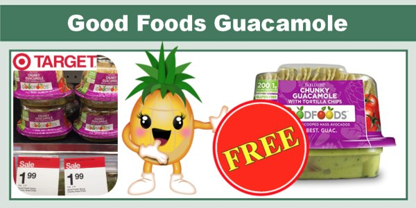 Good Foods Guacamole Coupon Deal