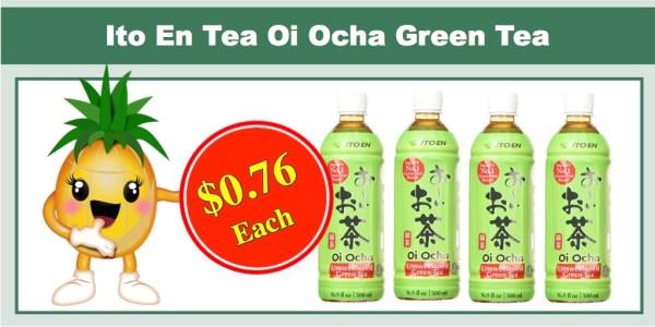 Ito En Tea Oi Ocha Green Tea