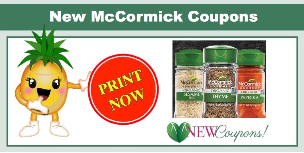 McCormick Organic Spices Coupons