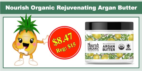 Nourish Organic Rejuvenating Argan Butter