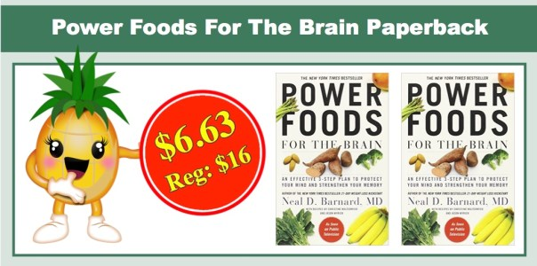Power Foods For The Brain Paperback