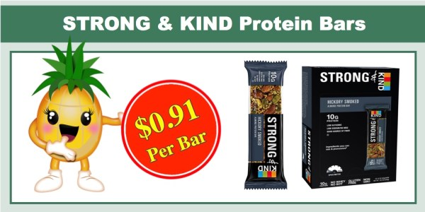 STRONG & KIND Protein Bars