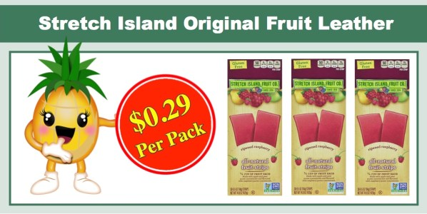 Stretch Island Original Fruit Leather