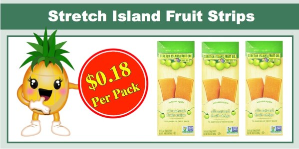 Stretch Island All-Natural Fruit Strips