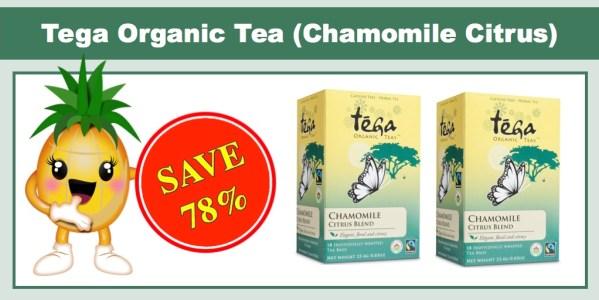 Tega Organic Tea Chamomile Citrus 6 Pack