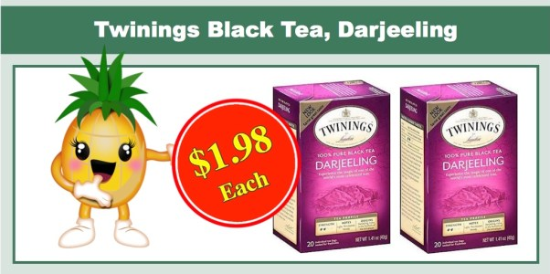 Twinings Black Tea Darjeeling
