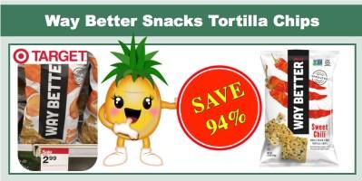 Way Better Snacks Tortilla Chips Coupon Deal
