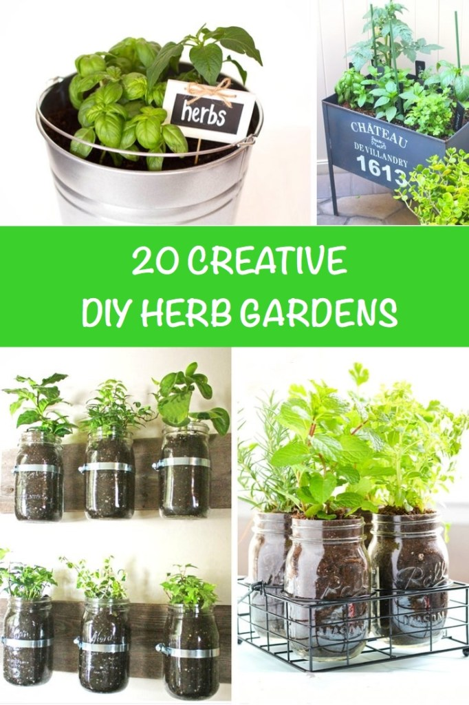 20 Creative DIY Herb Gardens