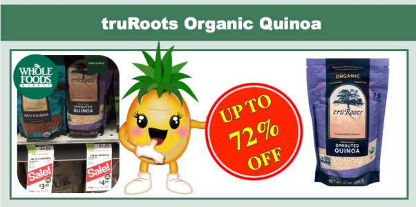 truRoots Organic Quinoa Coupon Deal