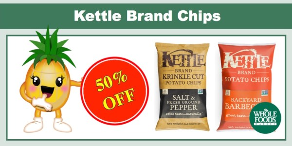 Kettle Brand Chips Coupon Deal