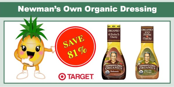 Newman's Own Organic Dressing Coupon Deal
