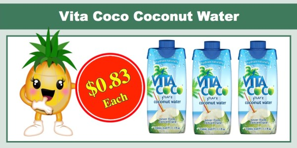 Vita Coco Coconut Water 12 Pack