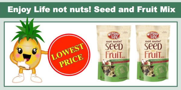 Enjoy Life Not Nuts! Mountain Mambo Seed and Fruit Mix (6 Pack)