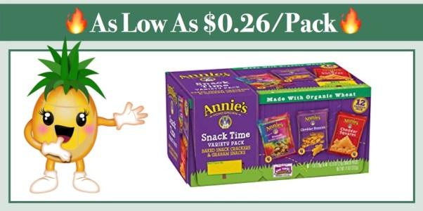 Annie's Variety Snack Packs