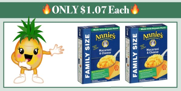 Annie's Family Size Macaroni and Cheese