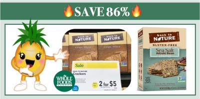 Back to Nature Crackers Coupon Deal