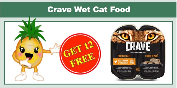 Crave Pet Food Coupons