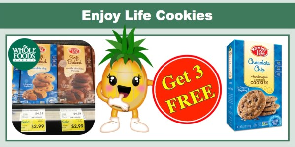 Enjoy Life Gluten Free Cookies Coupon Deal