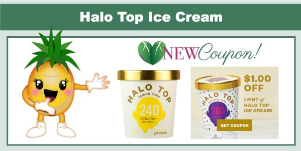 Halo Top Ice Cream Coupon