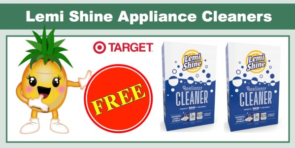 Lemi Shine Appliance Cleaners Coupon Deal