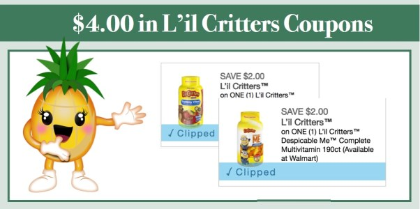 L'il Critters Coupons