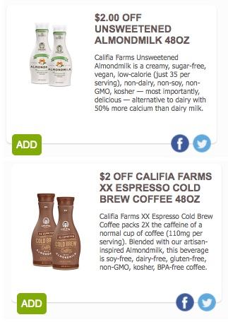 Califia Farms Coupon