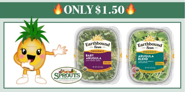 Earthbound Farm Organic Salad Coupon Deal