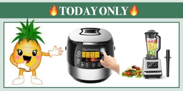 Up to 81% Off Elechomes Rice Cooker, Kettle, Juice and Blender!ooker, Kettle, Juice and Blender!